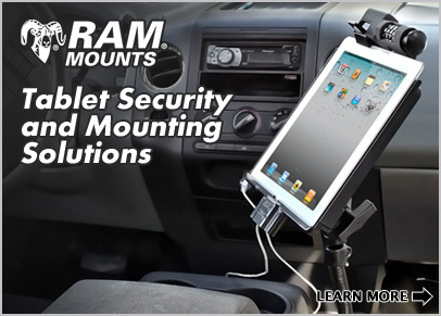 RAM Mounts Tablet Security Solutions