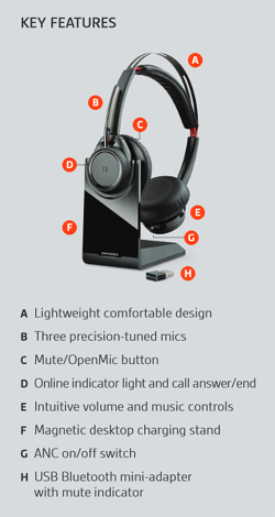 Unify Your Communications with the Plantronics Voyager Focus